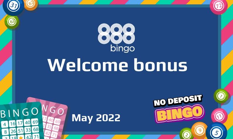 Latest 888Bingo bonus