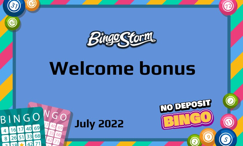 Latest Bingo Storm bonus, 10 Bonus spins