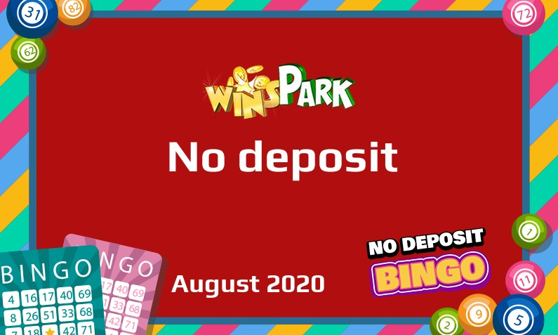 Latest no deposit bonus from Wins Park Casino- 3rd of August 2020