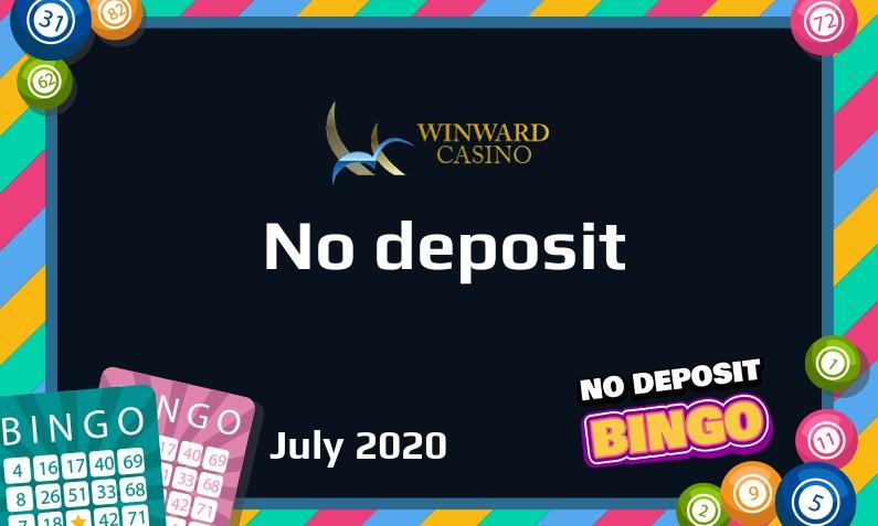 Latest Winward Casino no deposit bonus- 10th of July 2020