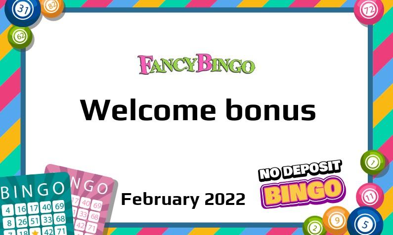 New bonus from Fancy Bingo