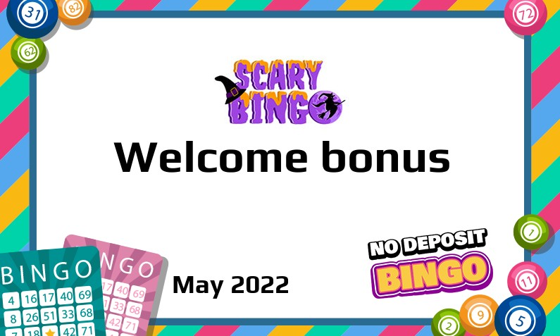 New bonus from Scary Bingo Casino